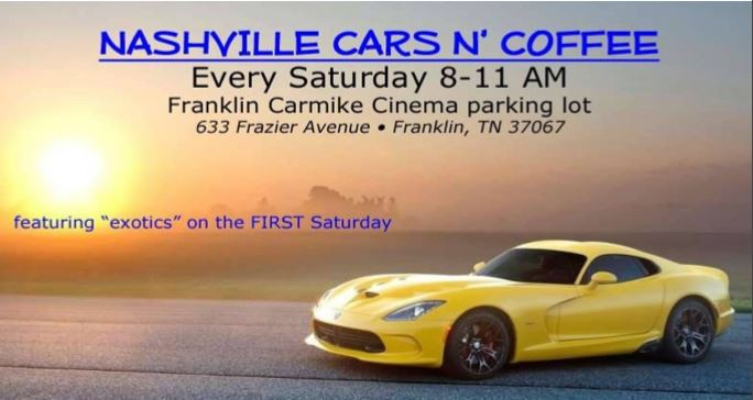 Nashville Cars and Coffee @ Franklin Carmike Cinema | Franklin | Tennessee | United States