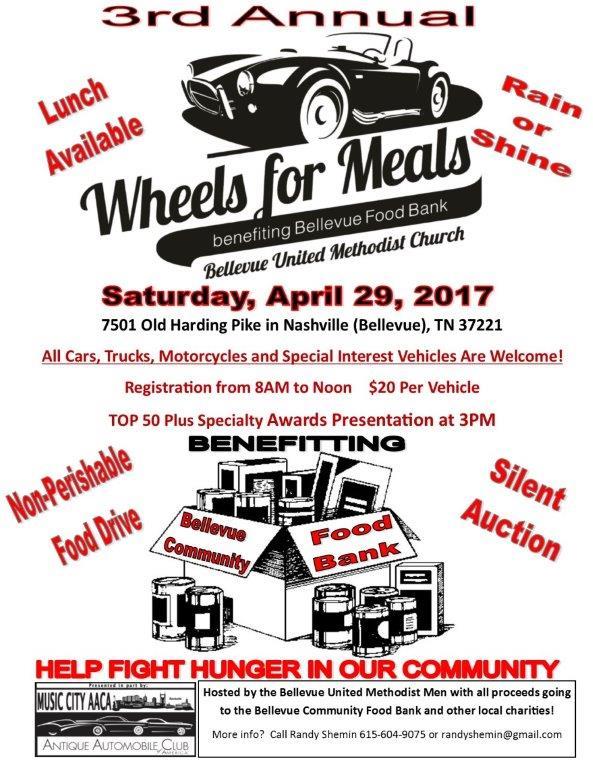 Wheels for Meals @ Bellevue United Methodist Church  | Nashville | Tennessee | United States