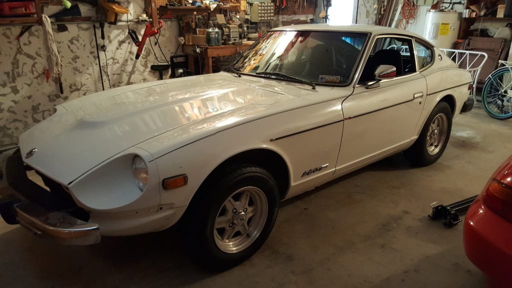 Matt's 1976 Datsun 280Z just after acquiring the car in south Florida