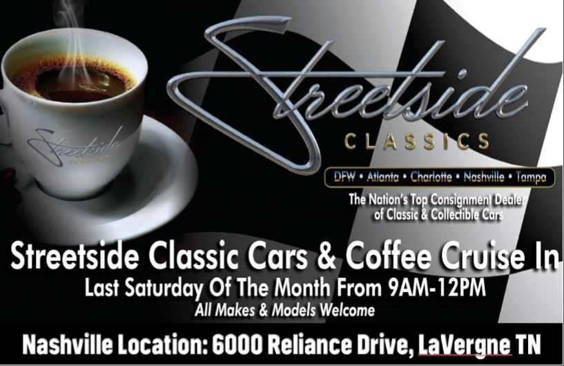 Streetside Classics Cars and Coffee @ Streetside Classics | La Vergne | Tennessee | United States