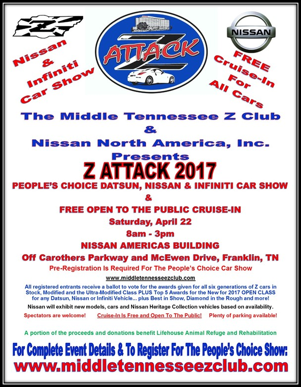 Z Attack 2017 @ Nissan Americas Building | Franklin | Tennessee | United States