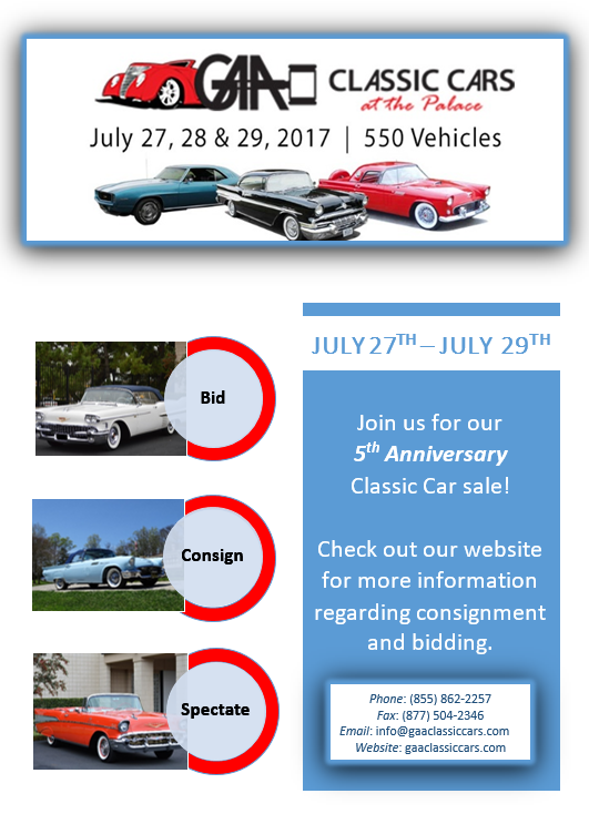 GAA Classic Car Sale @ Greensboro, NC | Greensboro | North Carolina | United States