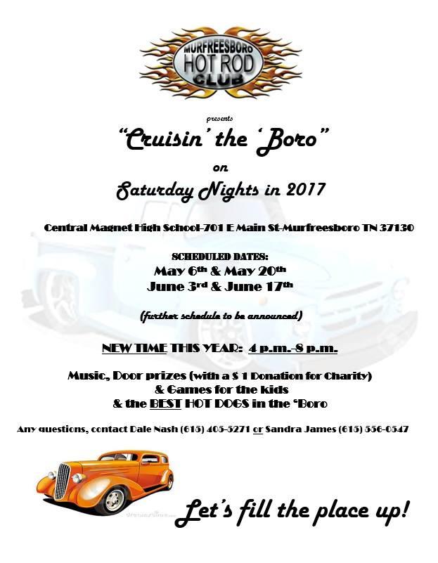 Cruisin' the 'Boro @ Central Magnet High School | Murfreesboro | Tennessee | United States