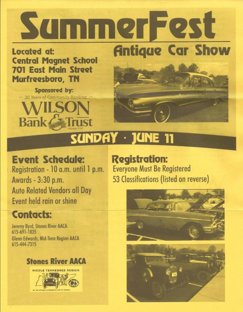 SummerFest @ Central Magnet School | Murfreesboro | Tennessee | United States