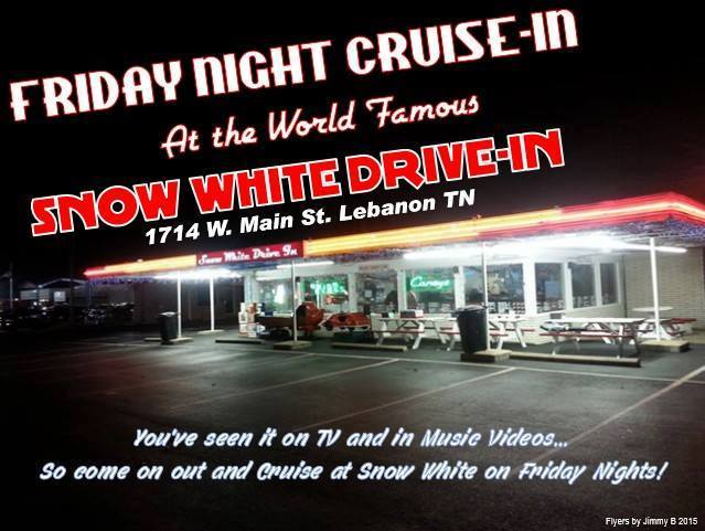 Snow White Drive-In Cruise @ Snow White Drive-In | Lebanon | Tennessee | United States
