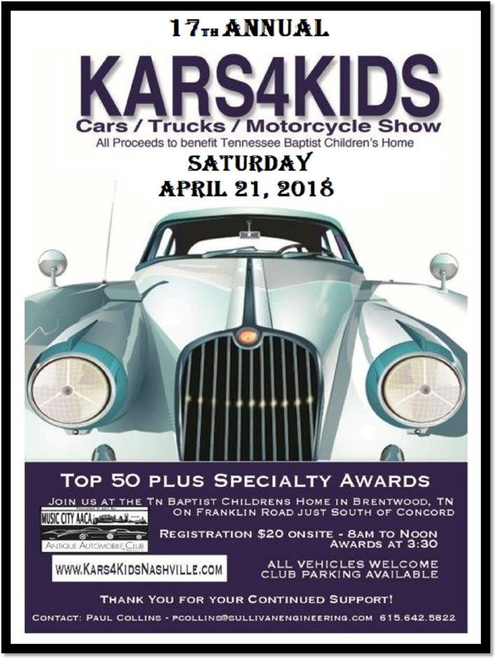Kars4Kids @ TN Baptist Children's Home | Brentwood | Tennessee | United States