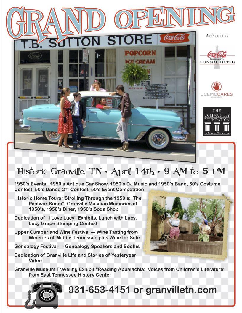 Granville 1950's Car Show and More @ Historic Granville, TN | Granville | Tennessee | United States